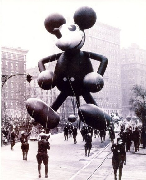 First Ever Mickey Mouse Float- 1934