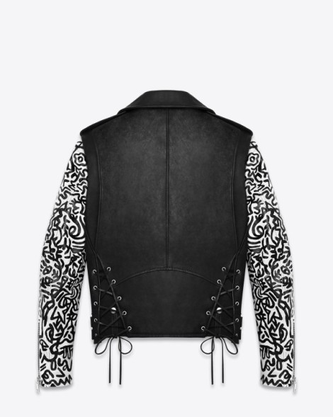 Saint Laurent x Sumi ink club Moto Jacket